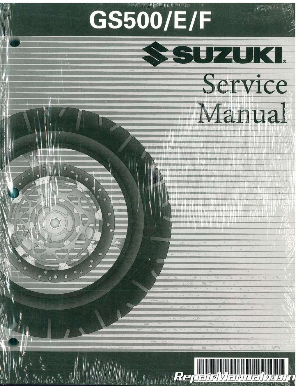 suzuki gs500e gs 500e twin 1995 repair service manual