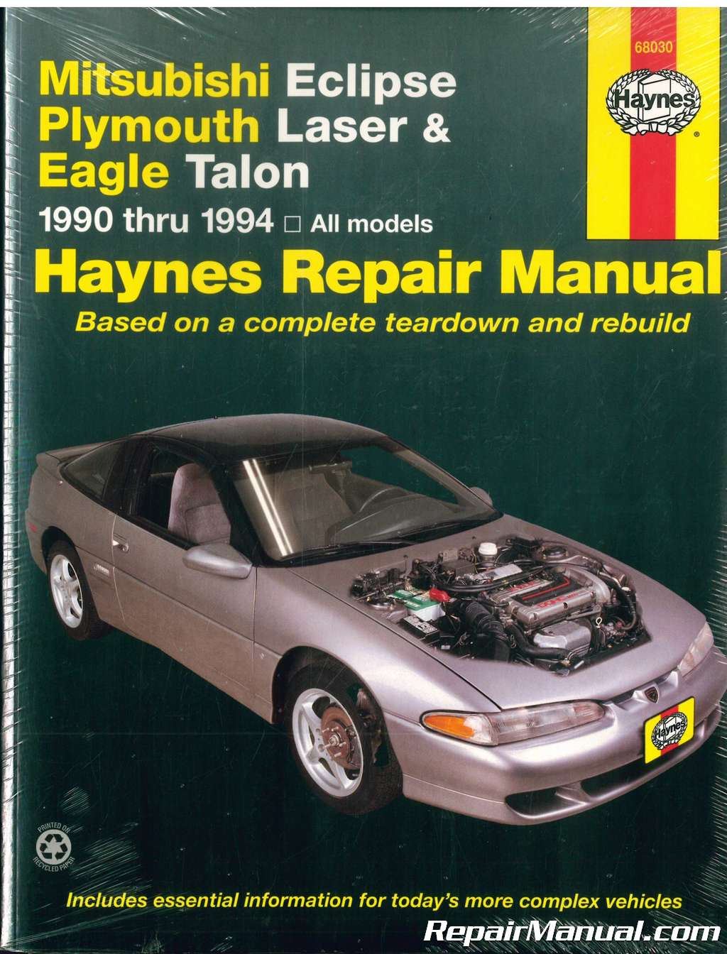1990 1994 haynes mitsubishi eclipse plymouth laser eagle talon Volvo 240 Wiring Diagram 1990 1994 haynes mitsubishi eclipse plymouth laser eagle talon auto repair manual