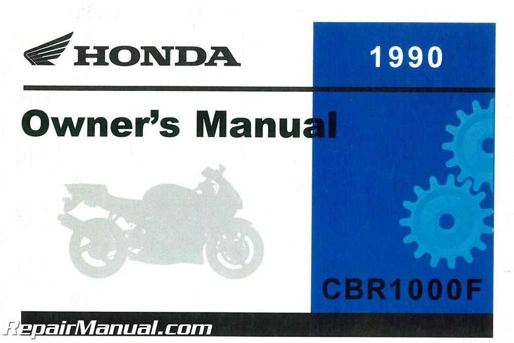 Honda cbr1000f service manual.