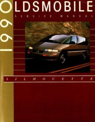 Oldsmobile Silhouette Service Manual 1990 Used