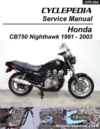 2000-2003 Honda CB750 Nighthawk Motorcycle Service Manual