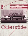 Used 1991 Cutlass Caliais Factory Service Manual