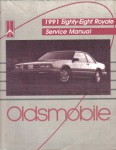 Used 1991 Eighty-Eight Royale Factory Service Manual