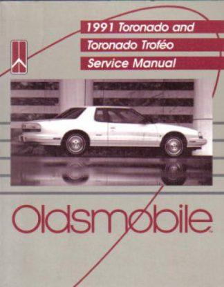 Used 1991 Oldsmobile Toronado Factory Service Manual