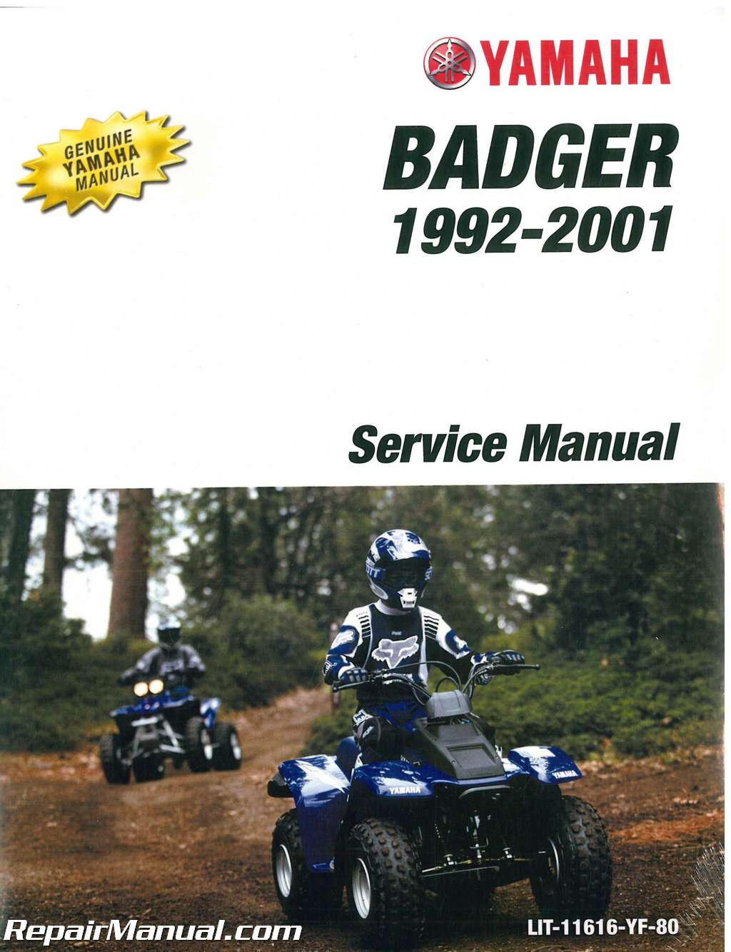 1992 2001 yamaha yfm80 service manual. Black Bedroom Furniture Sets. Home Design Ideas