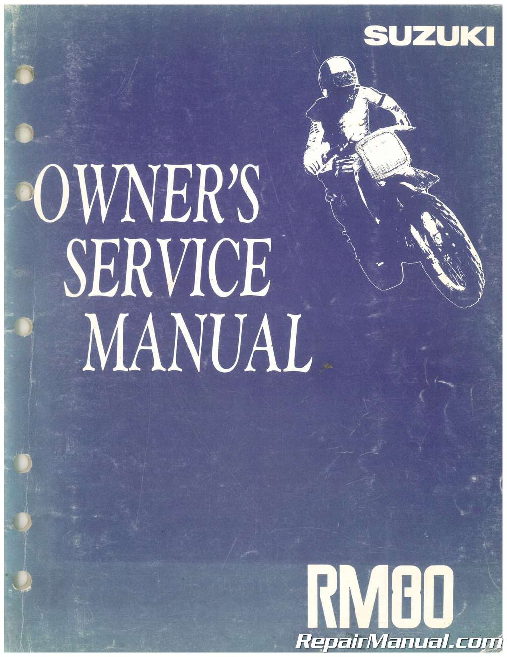 Used 1992 Suzuki Rm80 Owners Service Manual