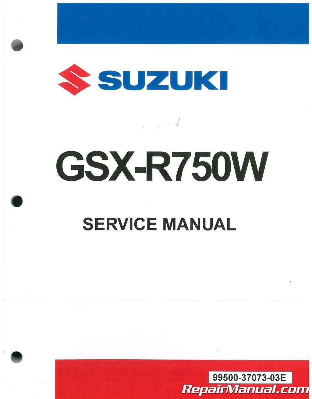 Suzuki Dealer Parts Department