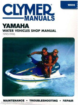 Mercury 90hp Sport Jet 120hp Sport Jet 1993-1995 Clymer Repair Manual