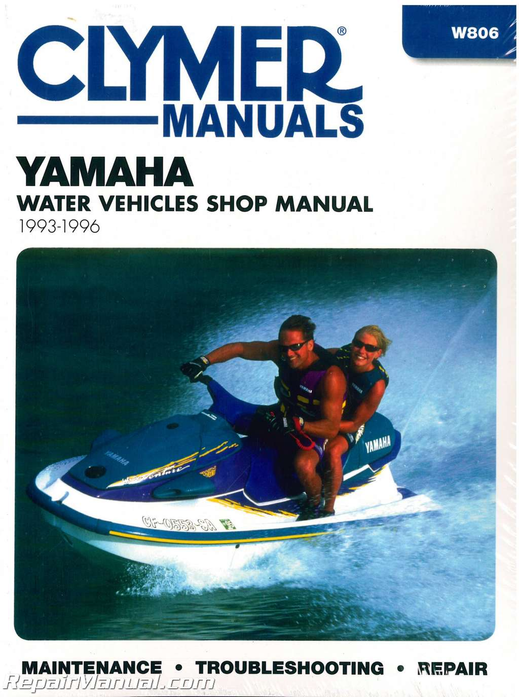 1993 1996 Yamaha Waverunner Clymer Personal Watercraft
