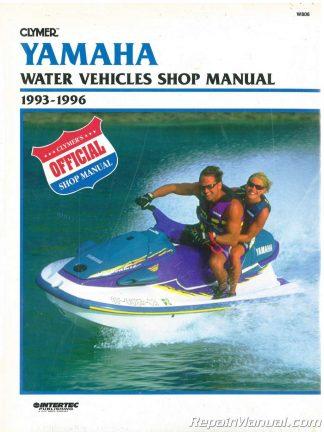 1993-1996 Yamaha Waverunner Clymer Personal Watercraft Service Manual