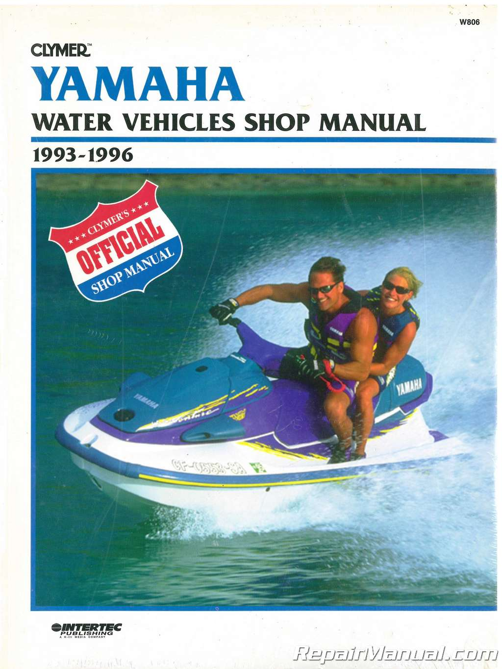 USED 1993-1996 Yamaha Waverunner Clymer Personal Watercraft Service Manual