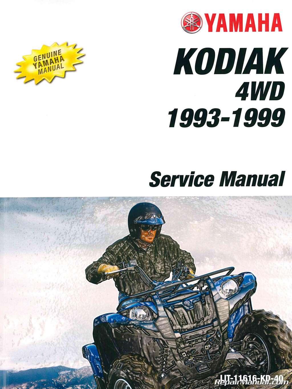 Rear Brake Shoes for Yamaha Kodiak 400 4x4 YFM400FW 1993 1994 1995