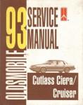 1993 Cutlass Ciera and Cruiser Oldsmobile Factory Service Manual Usec