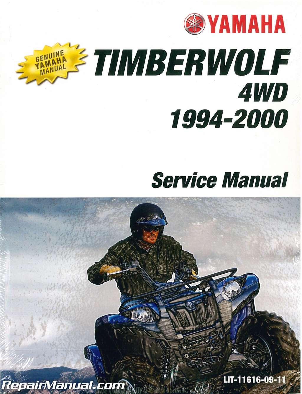 1994 2000 Yamaha YFB250FWF Timberwolf ATV Service Manual