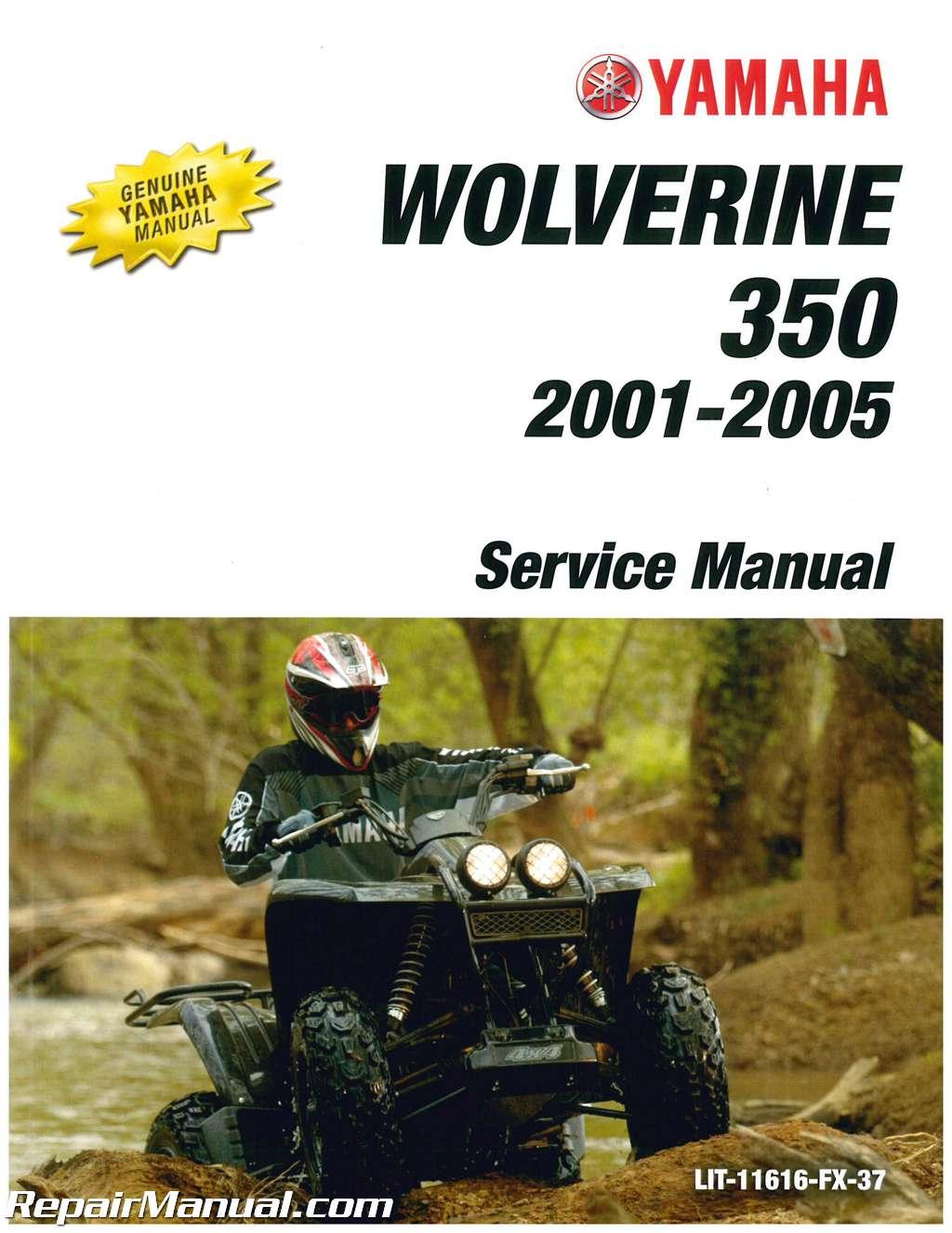 1995-2005-Yamaha-YFM350FX-Wolverine-4WD-ATV-Service- ...