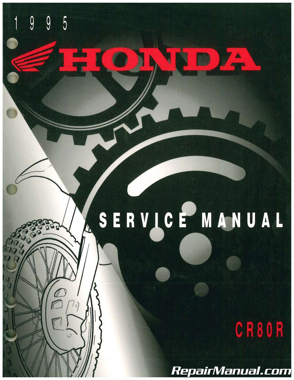 Used 1995 Honda Cr80r Service Manual