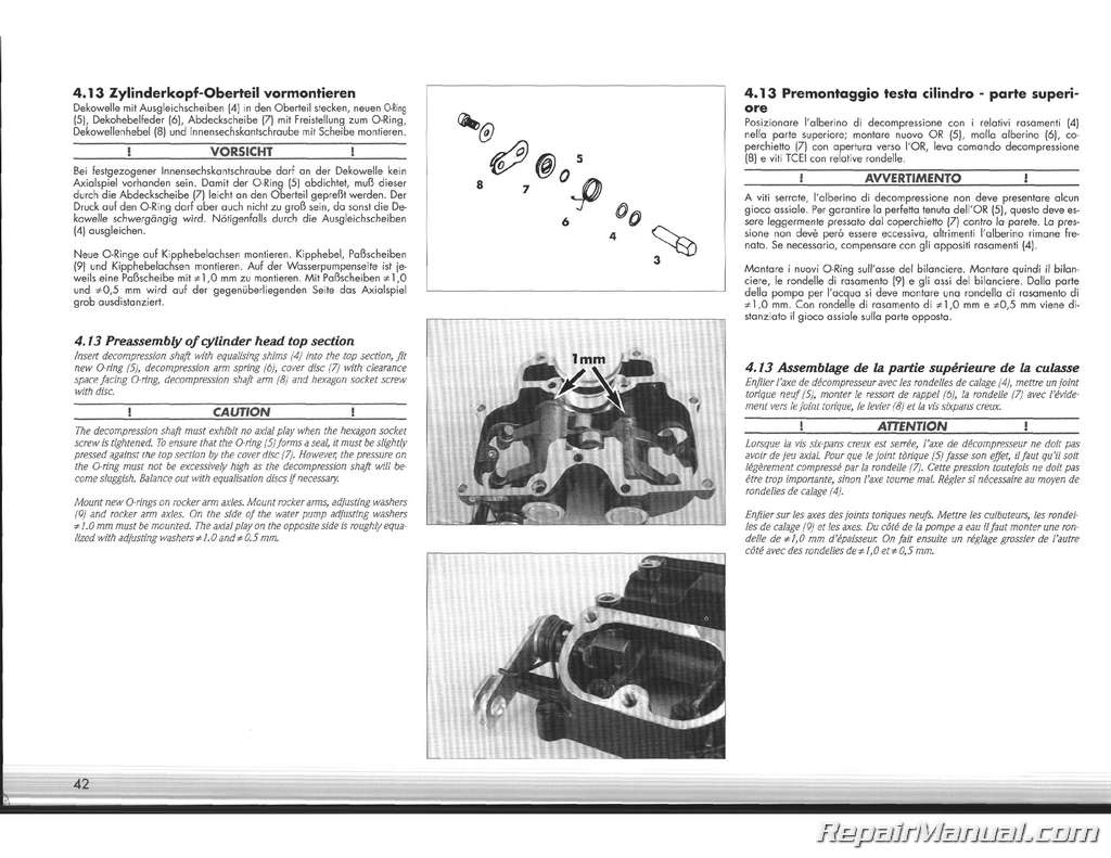 1995 ktm 400 620 lc4 duke motorcycle engine service manual ... ktm 620 lc4 wiring diagram
