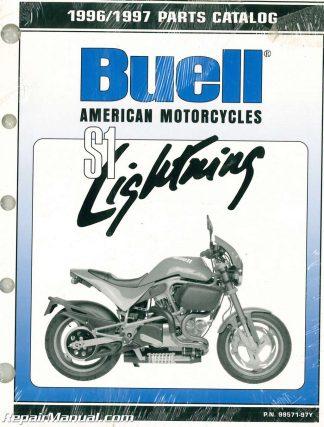1999 Buell X1 Lightning Motorcycle Parts Manual border=