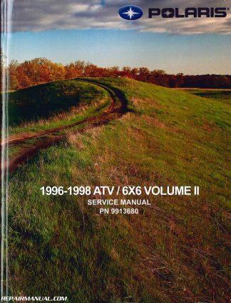 1996-1998 Polaris ATV and Light Utility Vehicle Repair Manual