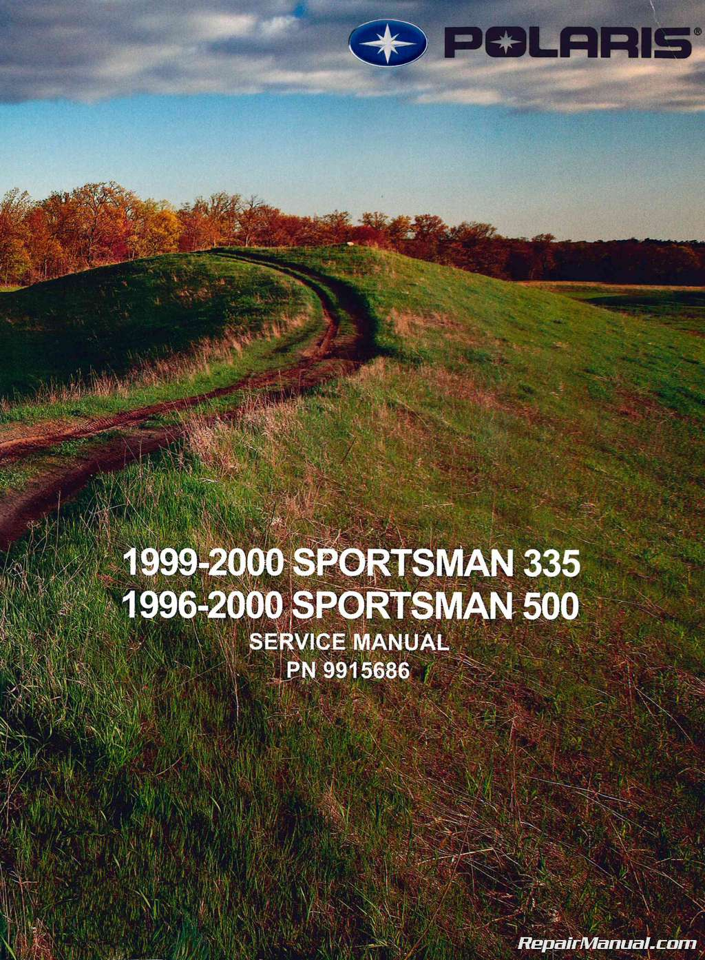 1996-2000 Polaris Sportsman 335 500 ATV Service Manual on