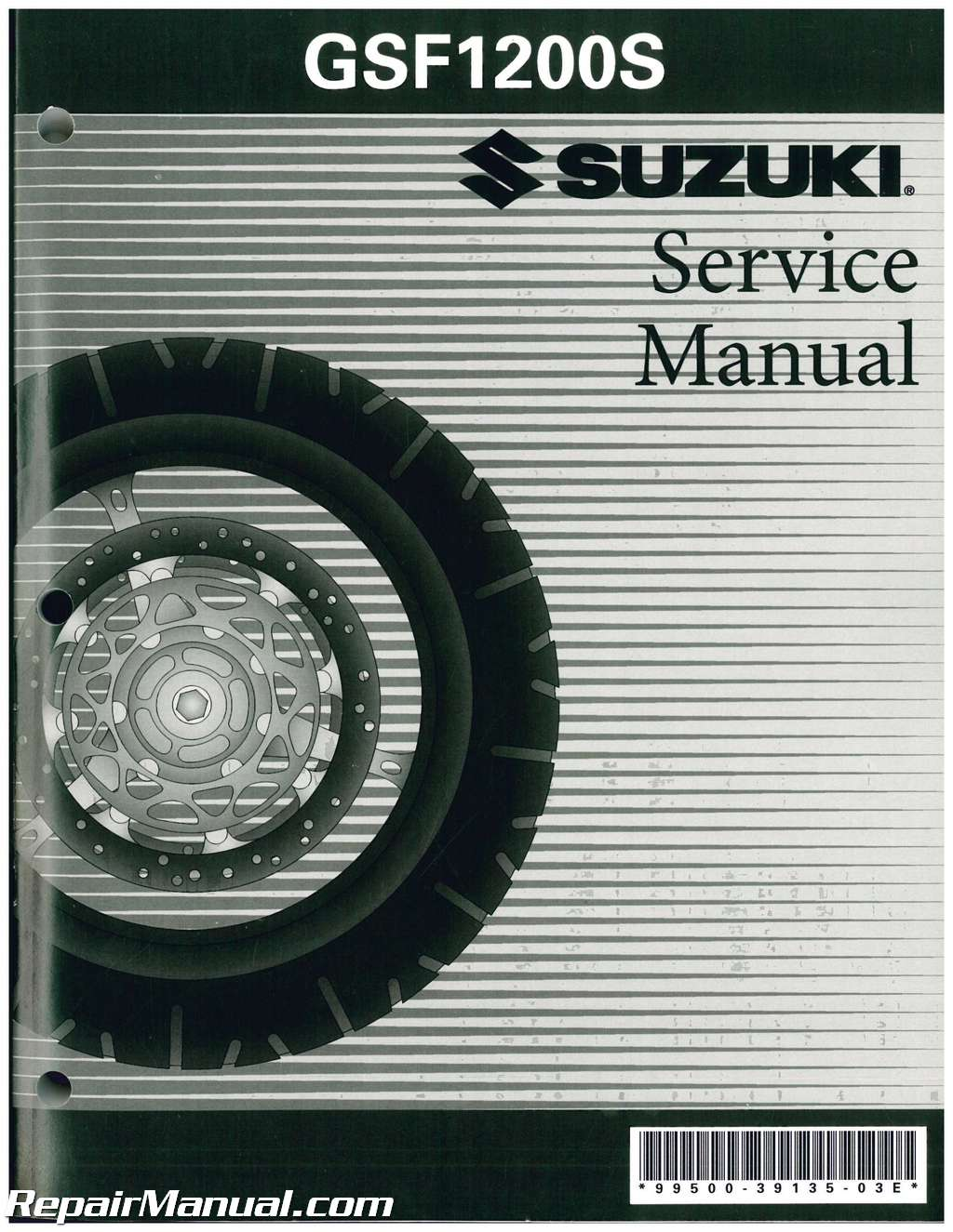 suzuki gsf600 1996 factory service repair manual