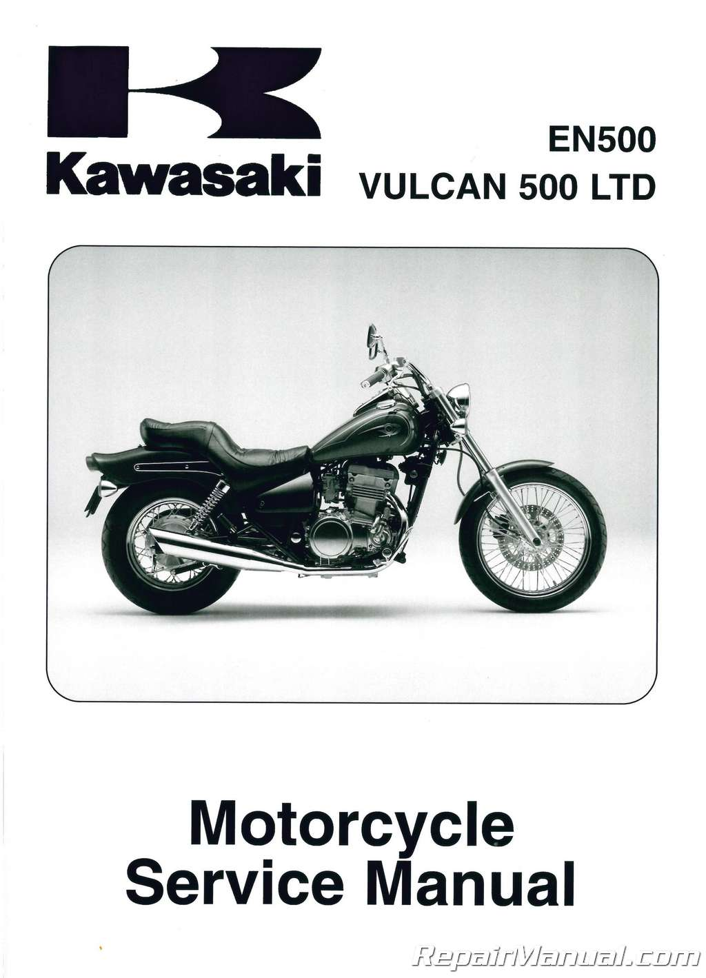 1996 2009 kawasaki en500c vulcan ltd motorcycle service manual. Black Bedroom Furniture Sets. Home Design Ideas