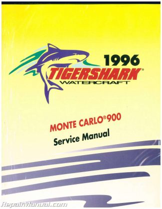 1997 Tigershark Montego And Monte Carlo 640 Service Manual. 1996 Tigershark Monte Carlo 900 Personal Watercraft Service Manual. Wiring. 900 Tiger Shark Engine Diagram At Scoala.co