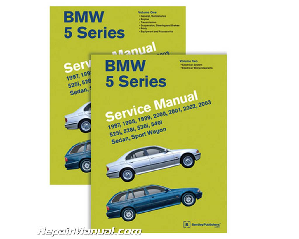 1997-2003 BMW 5-Series E39 525i, 528i, 530i, 540i, Sedan, Sport Wagon  Service Manual