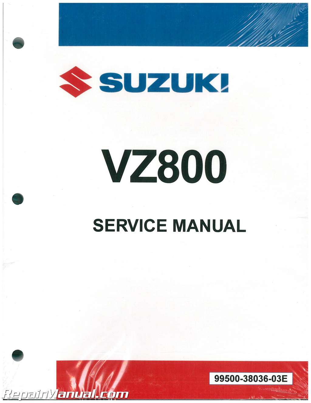 1997-2004 Suzuki VZ800 Motorcycle Service Manual