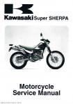 1997-2010 Kawasaki KL250G Super Sherpa Service Manual