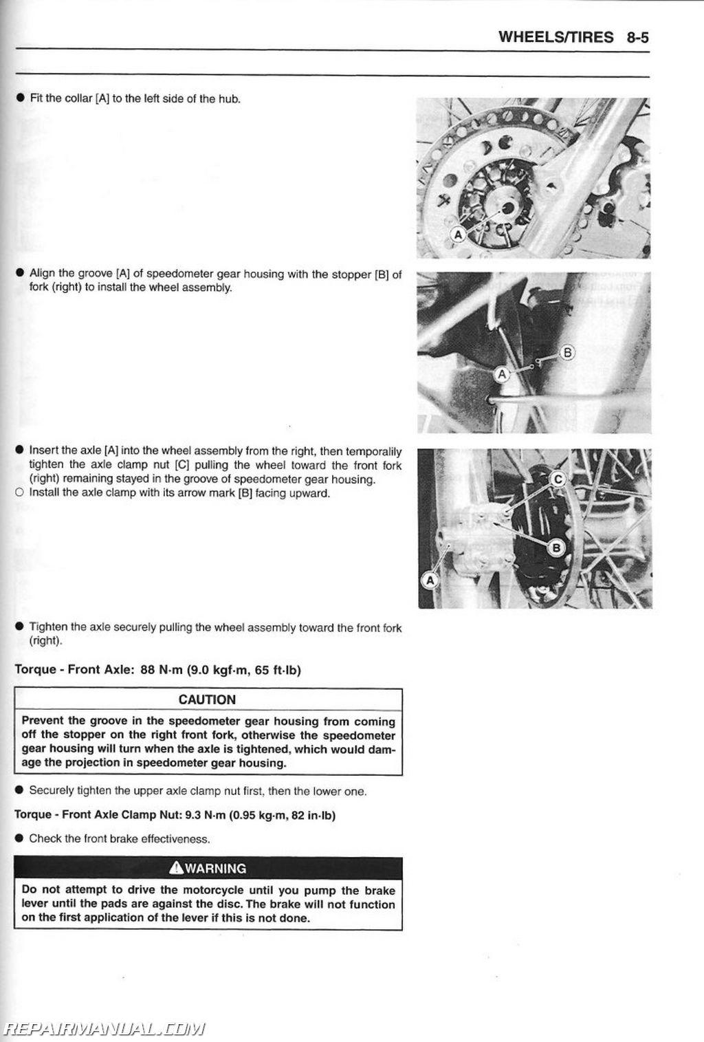 1997 2010 kawasaki kl250g super sherpa motorcycle service manual rh repairmanual com super sherpa service manual super sherpa repair manual