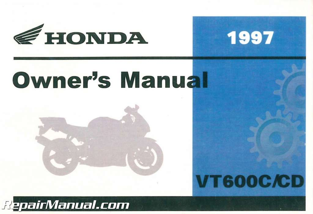 Honda shadow vlx 600 Manual