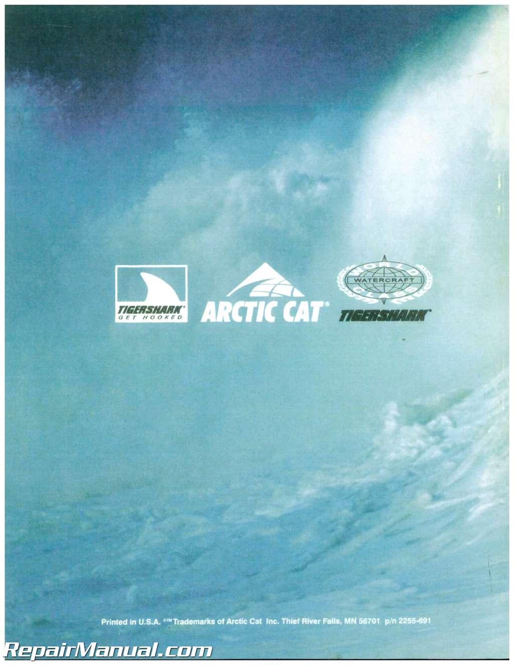 1997 tigershark monte carlo 770 1000 personal watercraft service manual rh repairmanual com Tigershark Montego 1996 Tiger Shark Monte Carlo