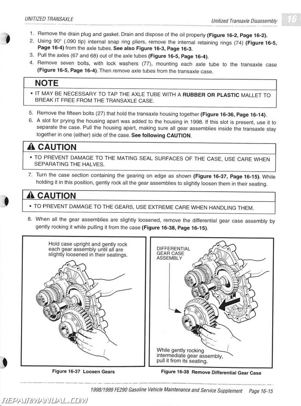 Club Car Maintenance Manual Free One Word Quickstart Guide Book 1999 48v Wiring Diagram 1998 Fe290 And Service Supplement Used Rh Repairmanual Com Schedule