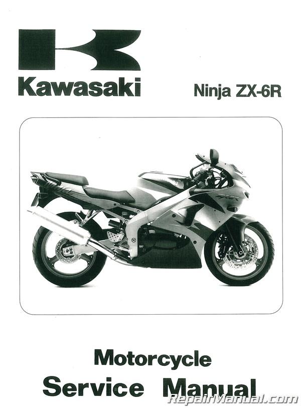 1998 1999 Kawasaki Zx600g Zx 6r Service Manual