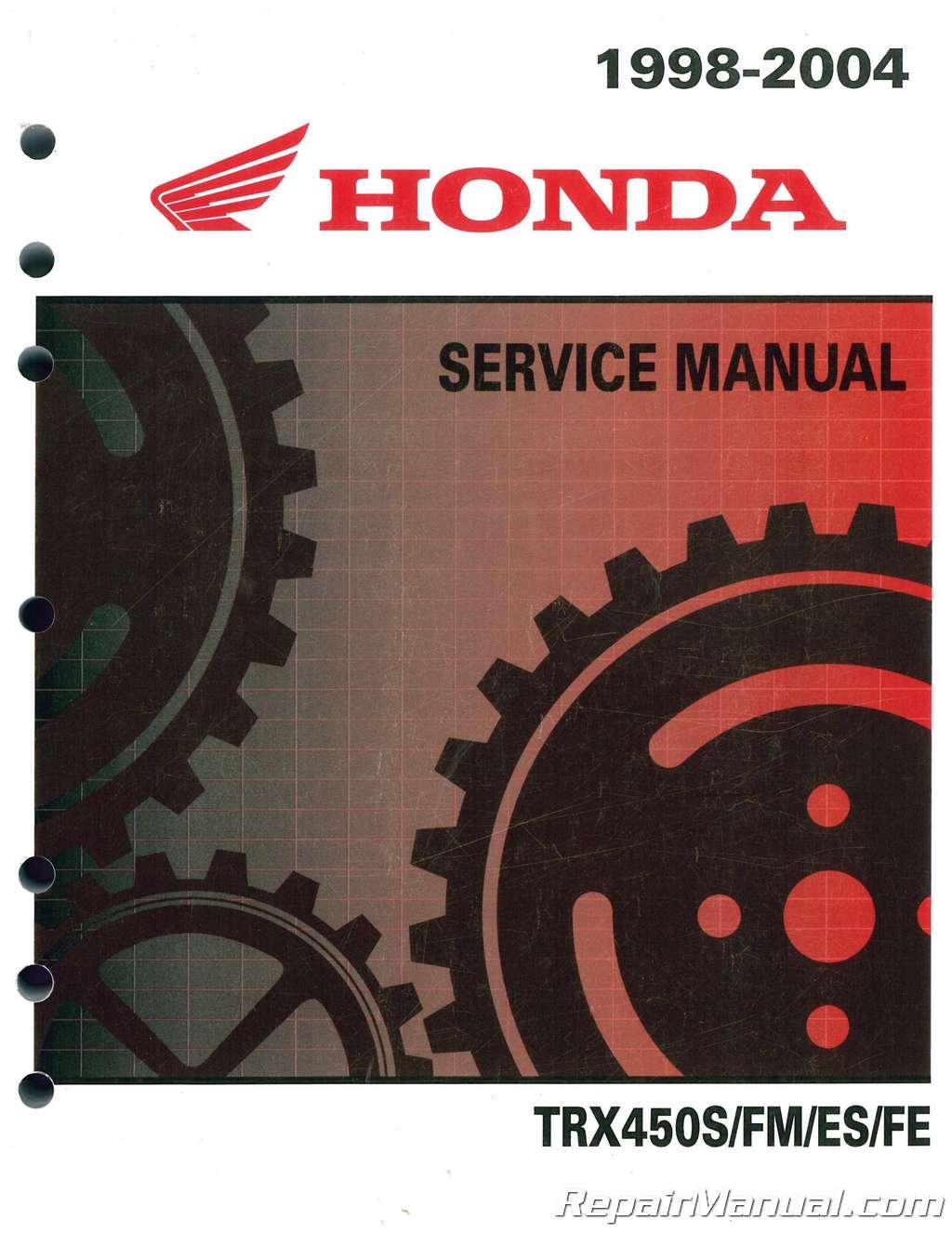 1998-2004-Honda-TRX450FE-FM-FourTrax-Foreman-ATV- ...
