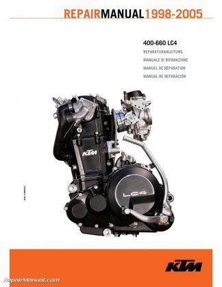 Ktm  Xc Paper Repair Manual