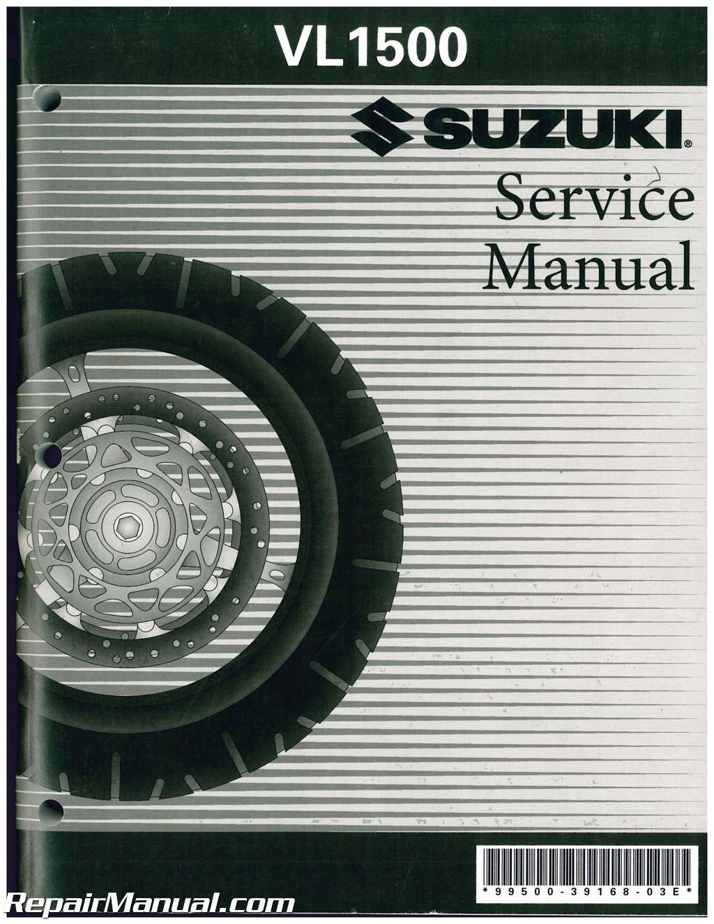 1998-2006 Suzuki VL1500 Intruder Boulevard C90 C90T Motorcycle Service  Manual