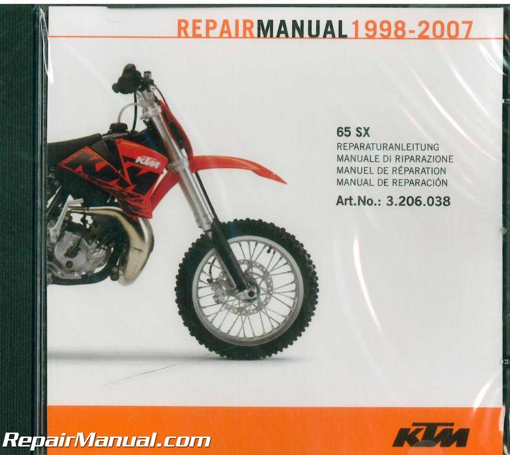 ... Array - 1998 2007 ktm 60sx 65sx repair manual on cd rom rh repairmanual  ...