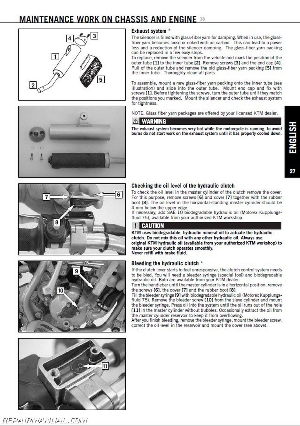 1998 2008 ktm 60sx 65sx 65xc repair manuals on cd rom. Black Bedroom Furniture Sets. Home Design Ideas