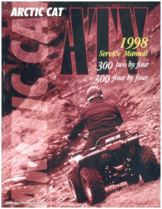 1998 Arctic Cat 300 2×4 and 4×4 ATV Service Manual002