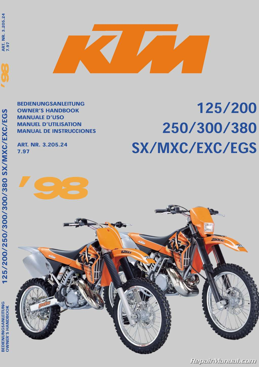 Ktm Mxc Review