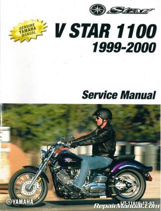 1999-2000 Yamaha XVS1100L LC V-Star 1100 Service Manual