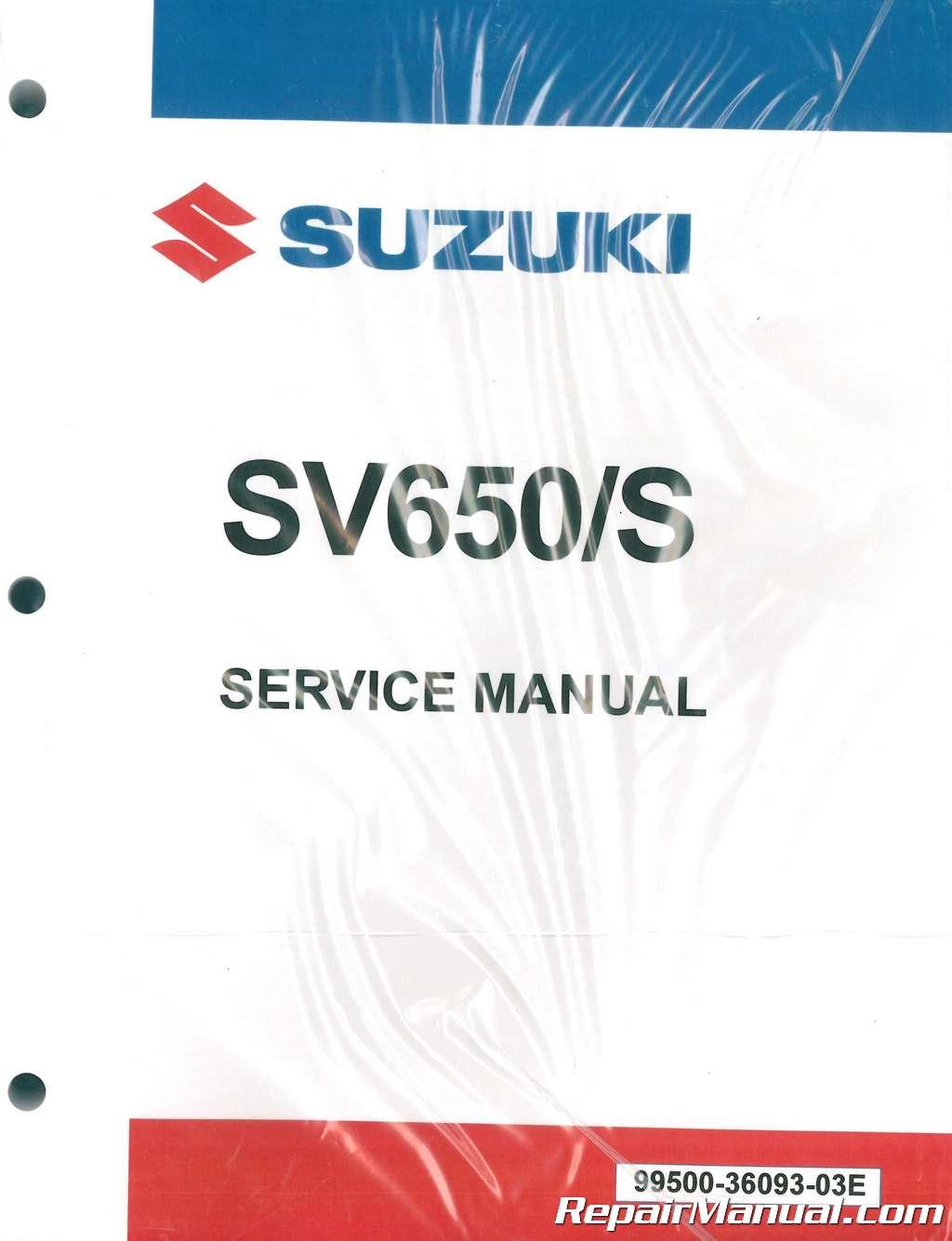 2005 sv650 maintenance