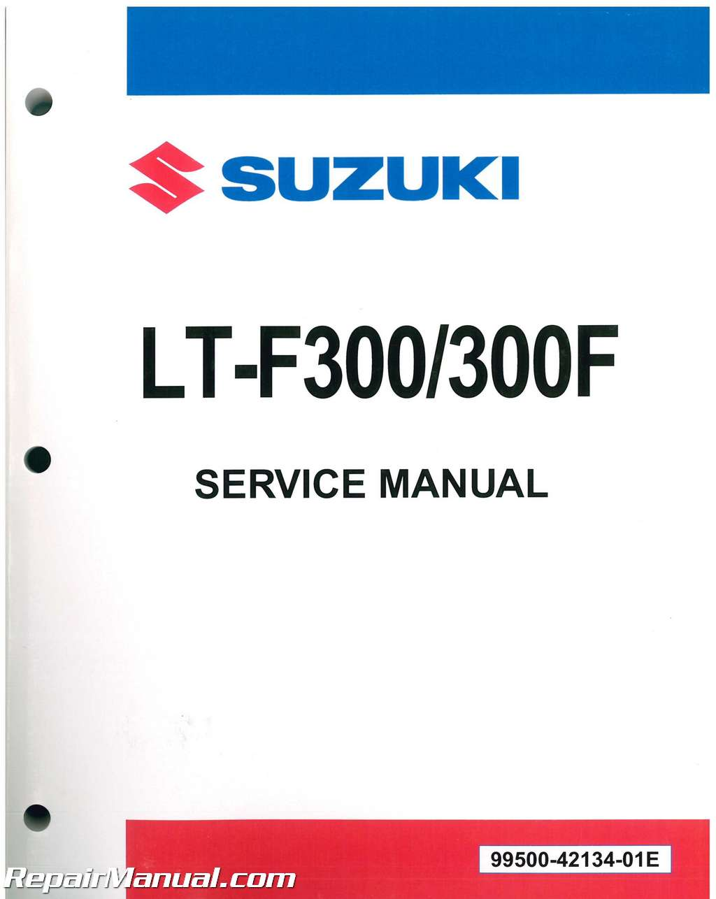 1999 – 2004 Suzuki LT-F300 / LT-F300F King Quad ATV Factory Service Manual