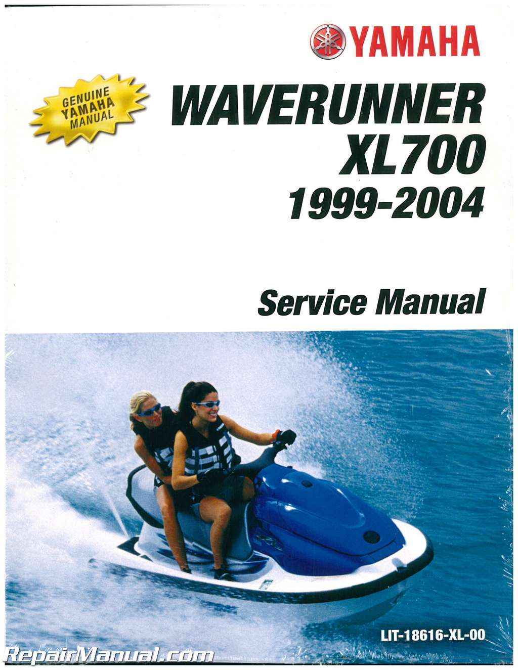 1999 2004 yamaha xl700 xl760 waverunner service manual rh repairmanual com yamaha waverunner repair manual free yamaha waverunner fx 140 service manual