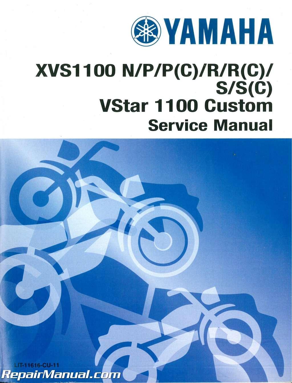 2003 yamaha vstar 1100 custom factory service manual