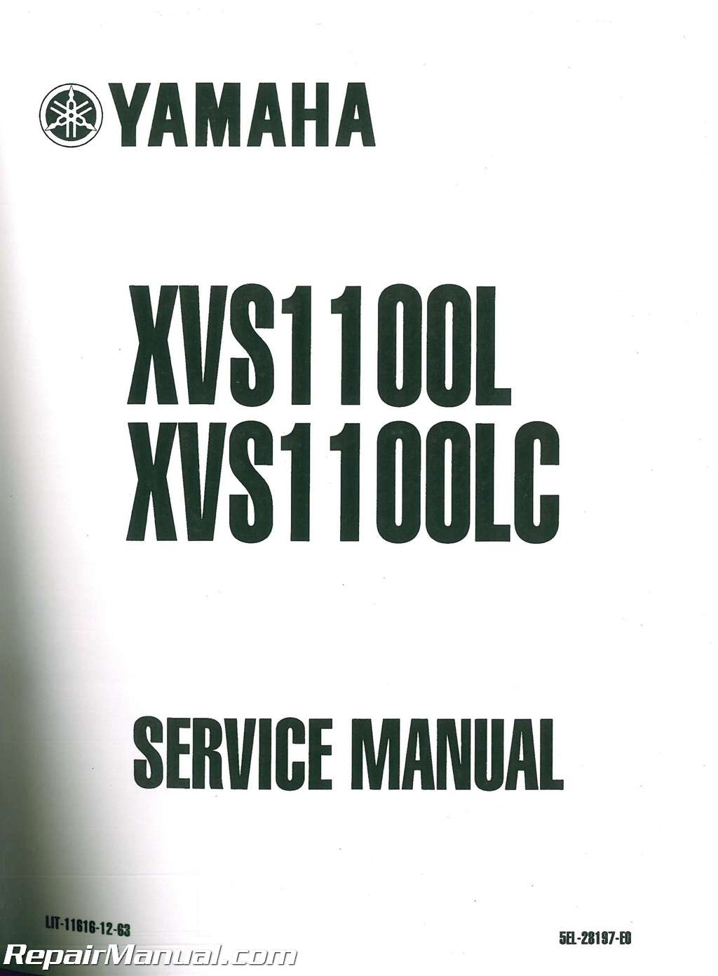Official 2004 2005 Yamaha Xvs1100s Sc V Star Custom Factory Service Manual Lit 11616 Cu 11 on yamaha golf cart repair manual