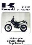 1999-2006 Kawasaki KLX250 Service Manual Supplement