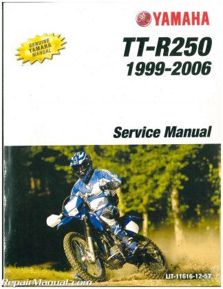 1992 Yamaha Wr200 Motorcycle Service Manual border=